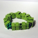 Legoklossarmbånd